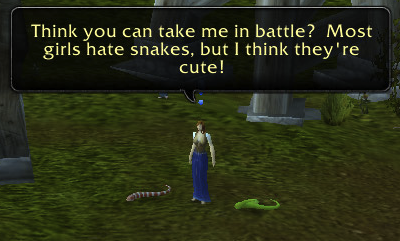 Your first challenge — The Crazy Snake Lady.