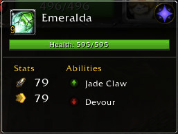 Meet Emeralda. Another cool cat!